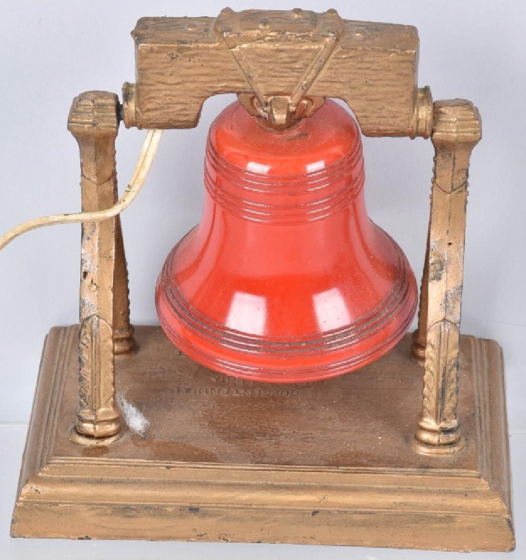 1926 SESQUI-CENTENNIAL LIBERTY BELL LIGHT - 3