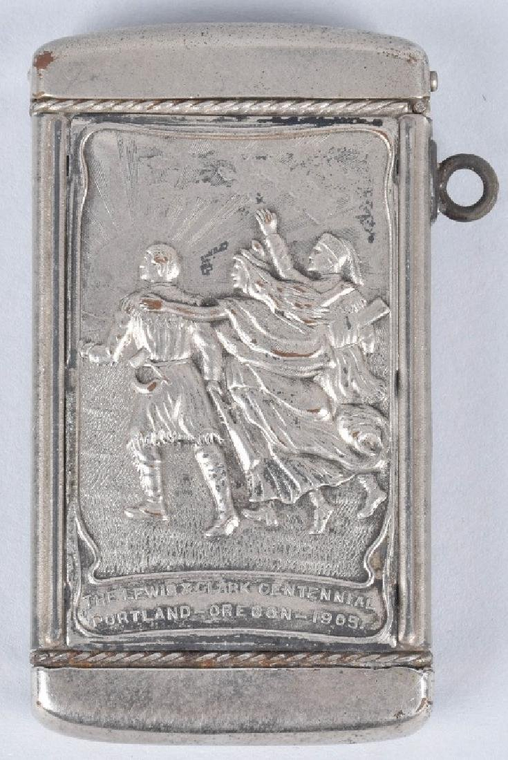 1905 LEWIS & CLARK EXPO MATCH SAFE