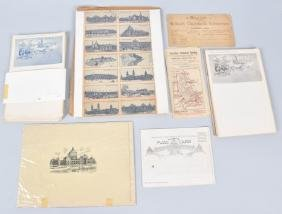 1893 Columbian Expo Stamps, Papers, & More