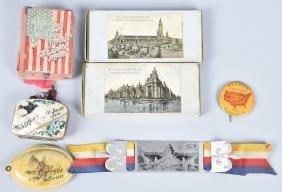 1904 St Louis Worlds Fair Items
