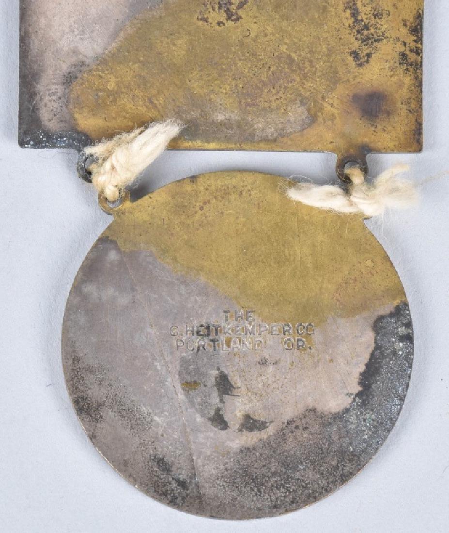 1904 1st BIENNUAL NAT ASSN LETTER CARRIERS MEDAL - 6