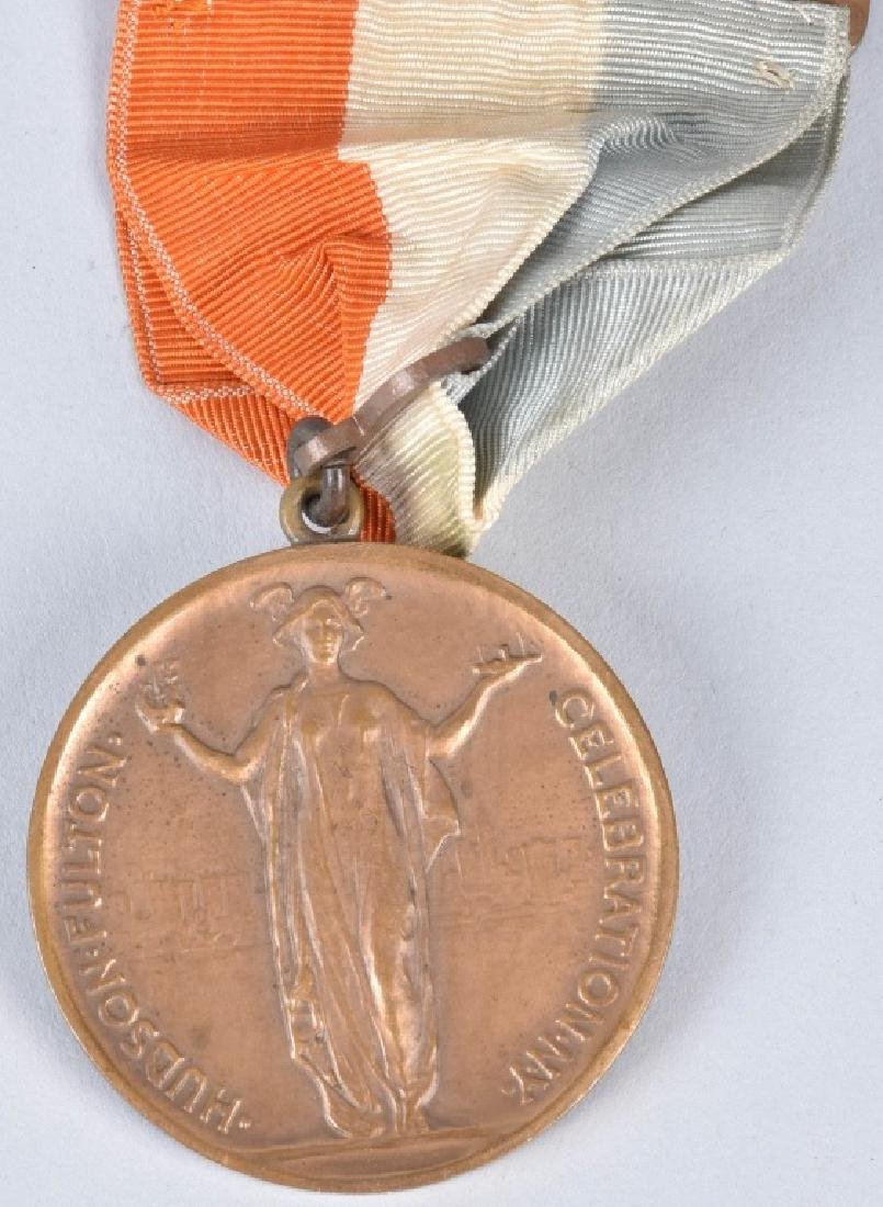 1909 HUDSON FULTON EXPO MEDALS & MORE - 6