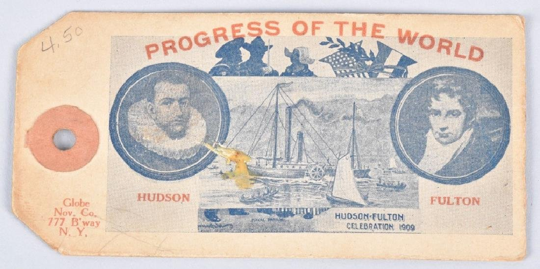 1909 HUDSON FULTON EXPO MEDALS & MORE - 7