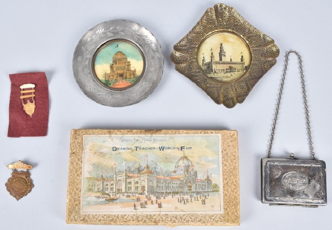 1893 COLUMBIAN EXPOSITION ITEMS