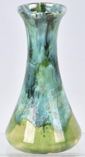 1934 Worlds Fair Souvenir Potter Vase