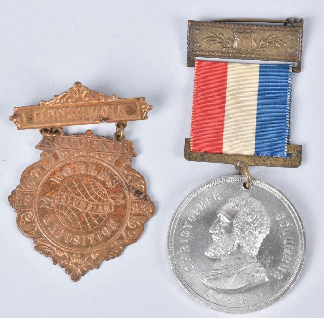 1893 COLUMBIAN EXPO ITEMS - 2