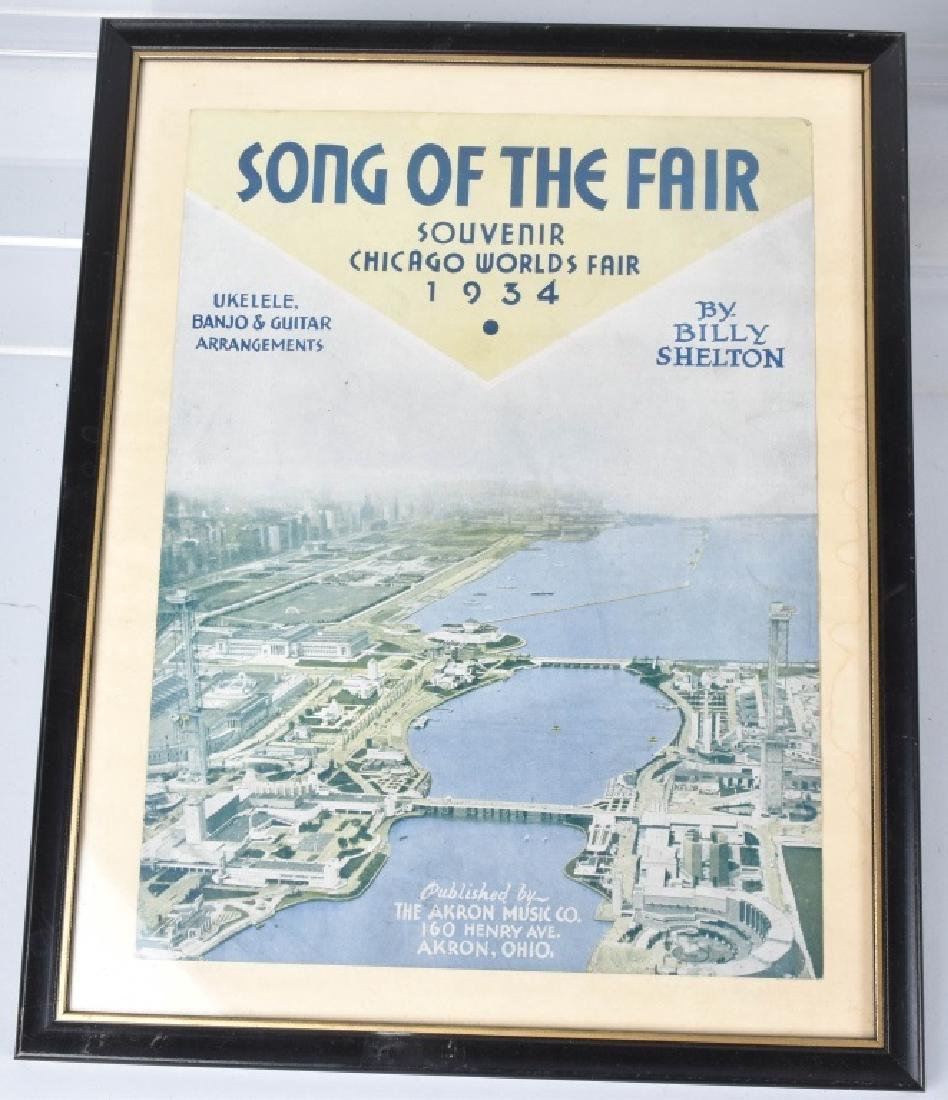 1933 WORLDS FAIR MAGAZINES, PAPERS, & ARVERTISING - 2