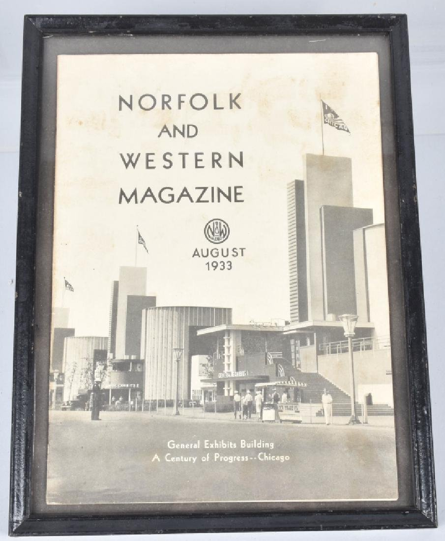 1933 WORLDS FAIR MAGAZINES, PAPERS, & ARVERTISING - 7
