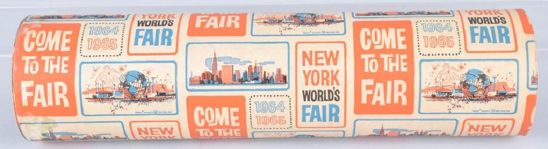 1964-65 NEW YORK WORLDS FAIR WRAPPING PAPER