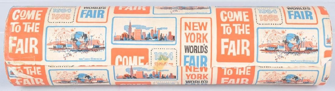 1964-65 NEW YORK WORLDS FAIR WRAPPING PAPER - 2