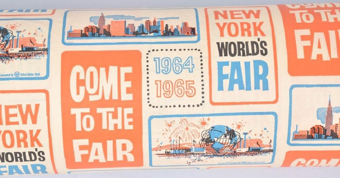 1964-65 NEW YORK WORLDS FAIR WRAPPING PAPER - 3