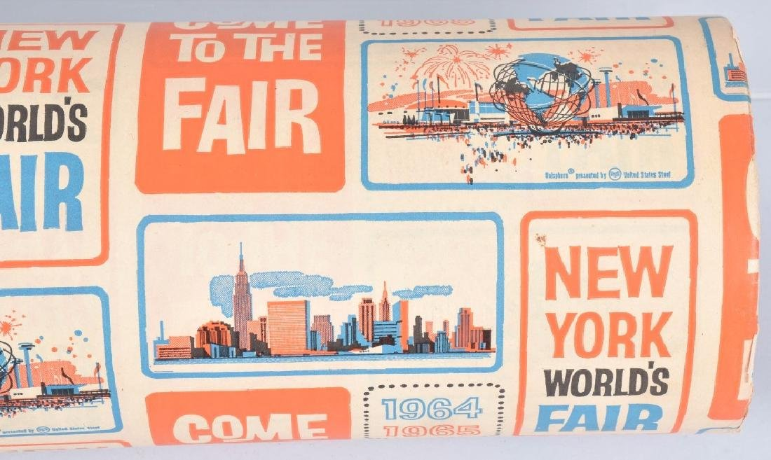 1964-65 NEW YORK WORLDS FAIR WRAPPING PAPER - 4