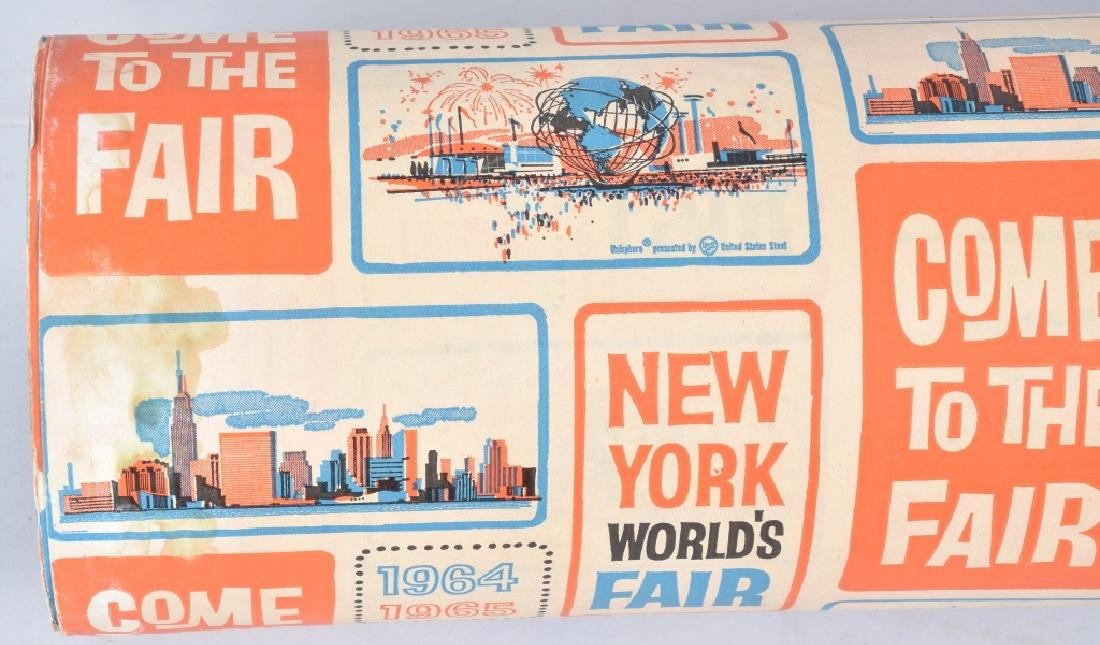 1964-65 NEW YORK WORLDS FAIR WRAPPING PAPER - 5
