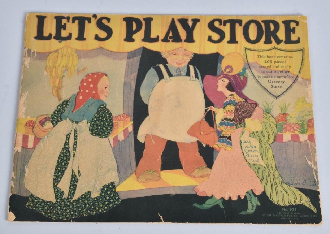 3-EARLY CHILDRENS BOOKS and BLOCK PUZZLE - 8