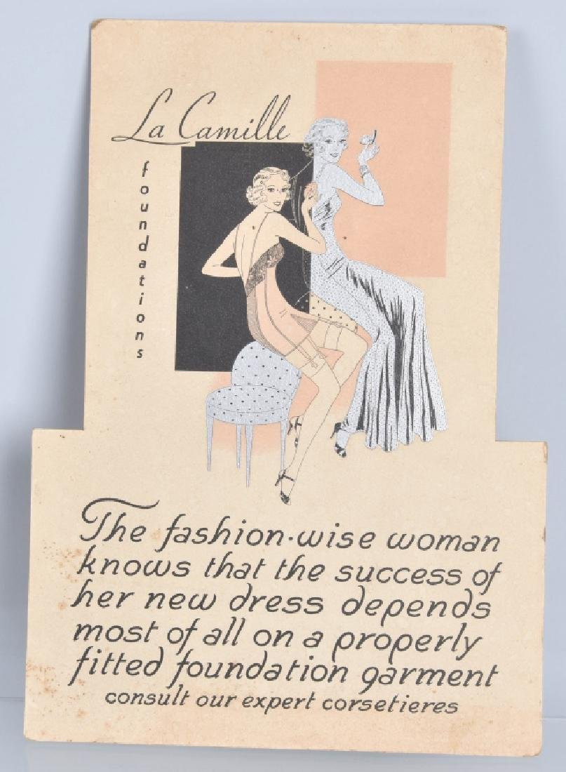 GOSSARD ADVERTISING COUNTER SIGN & MORE - 4