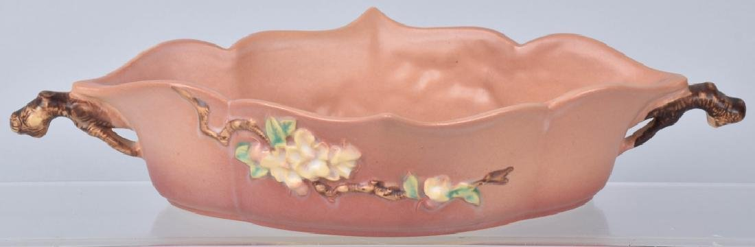 5-ROSEVILLE PINK APPLE BLOSSOM POTTERY GROUP - 6