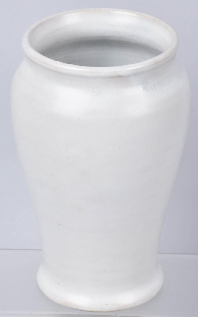 3-VINTAGE POTTERY VASES, RED WING & MORE - 2