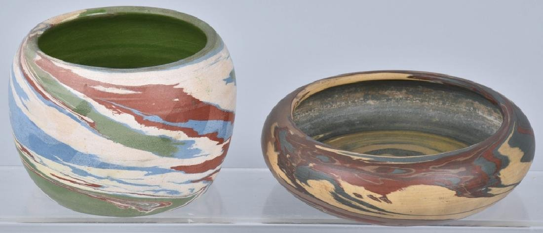 MISSION SWIRL POTTERY BOWLS, NILOAK & MORE
