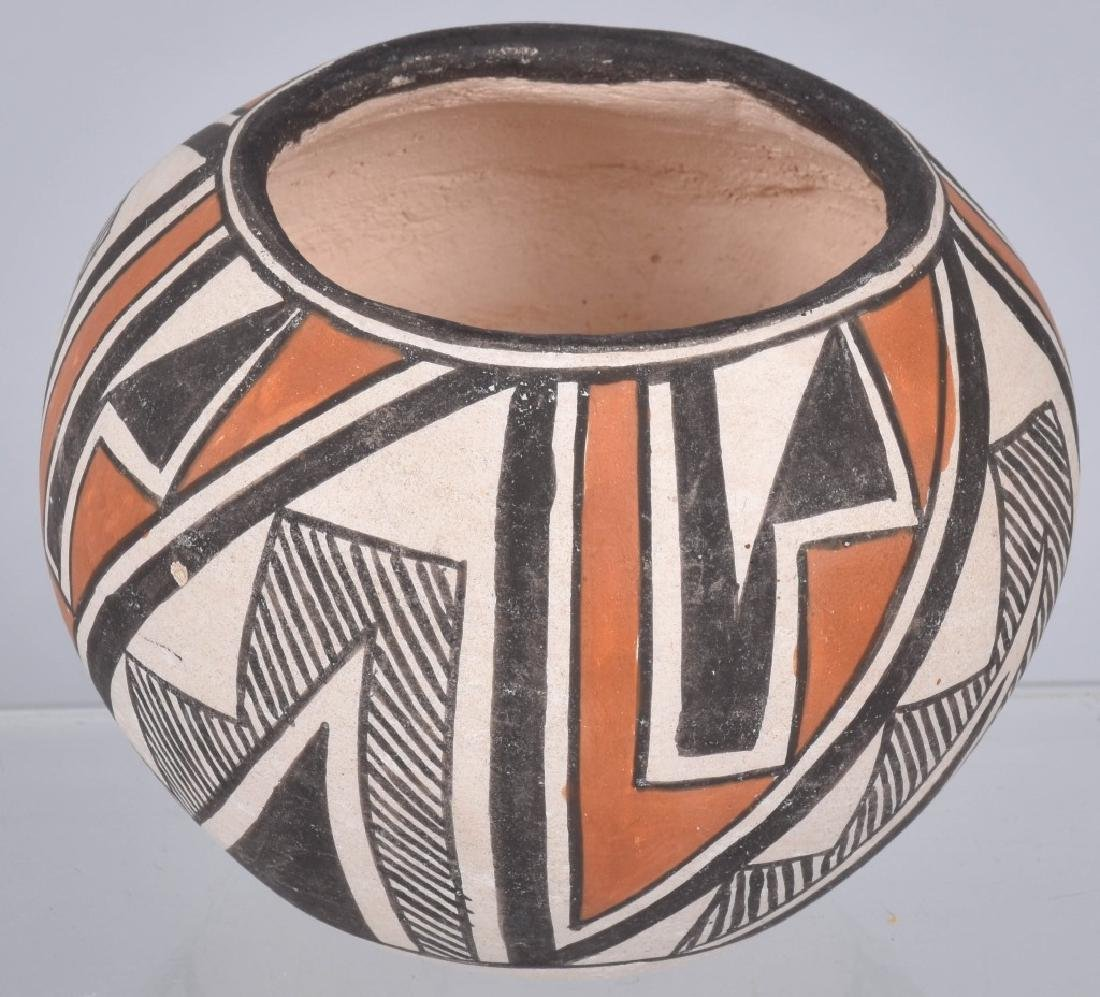 3-SOUTHWEST NATIVE AMERICAN POTTERY BOWLS - 2