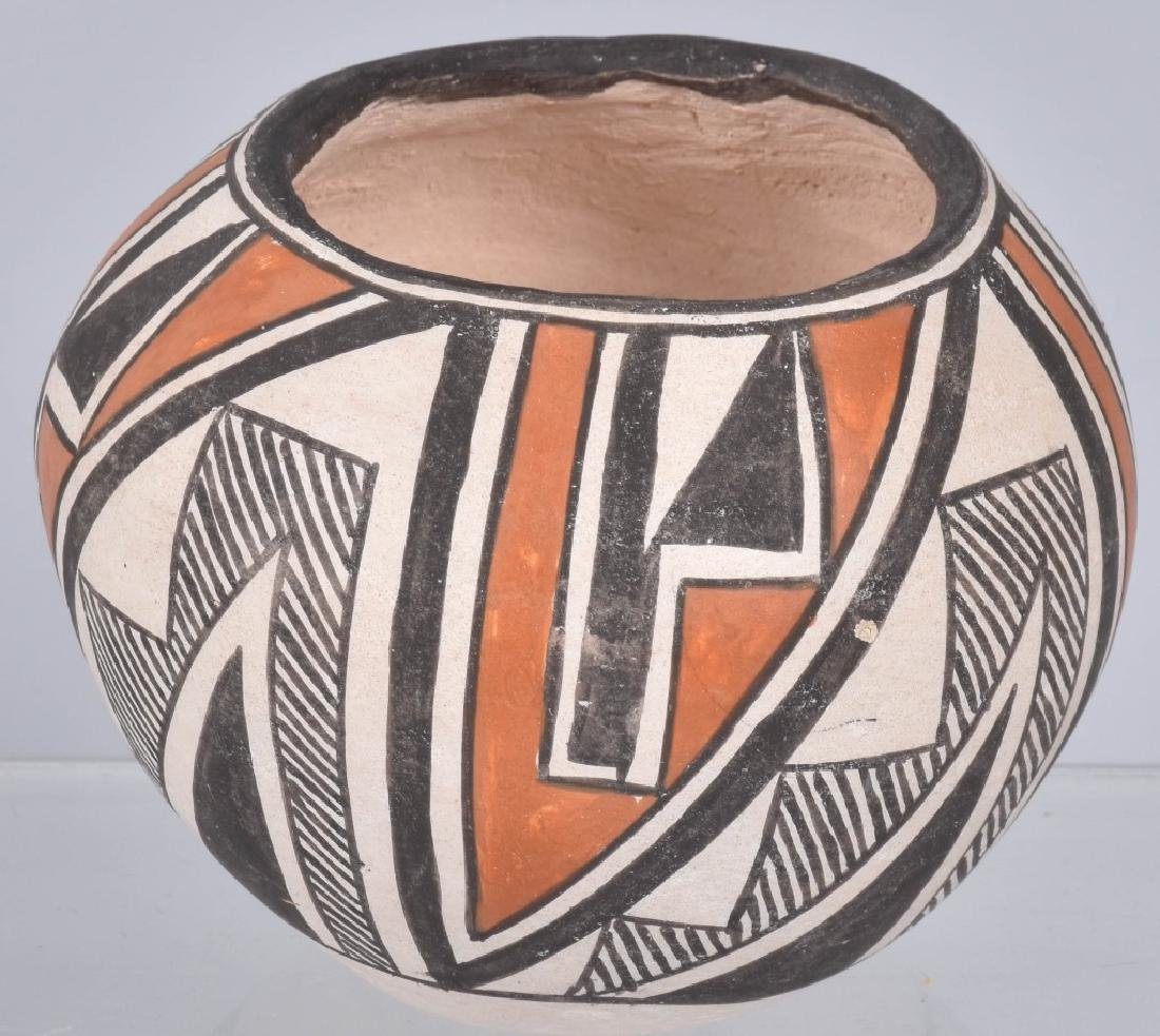 3-SOUTHWEST NATIVE AMERICAN POTTERY BOWLS - 3