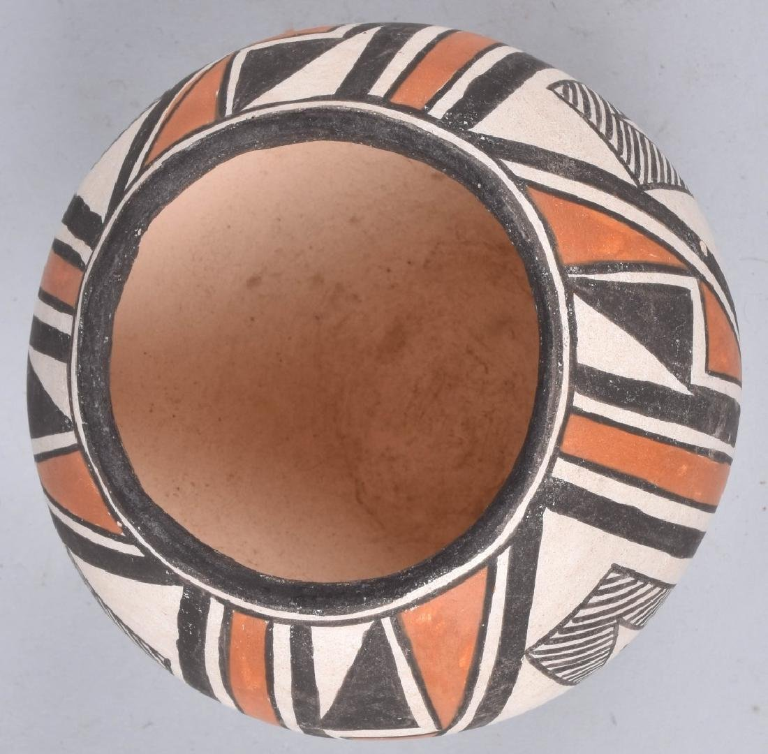3-SOUTHWEST NATIVE AMERICAN POTTERY BOWLS - 4