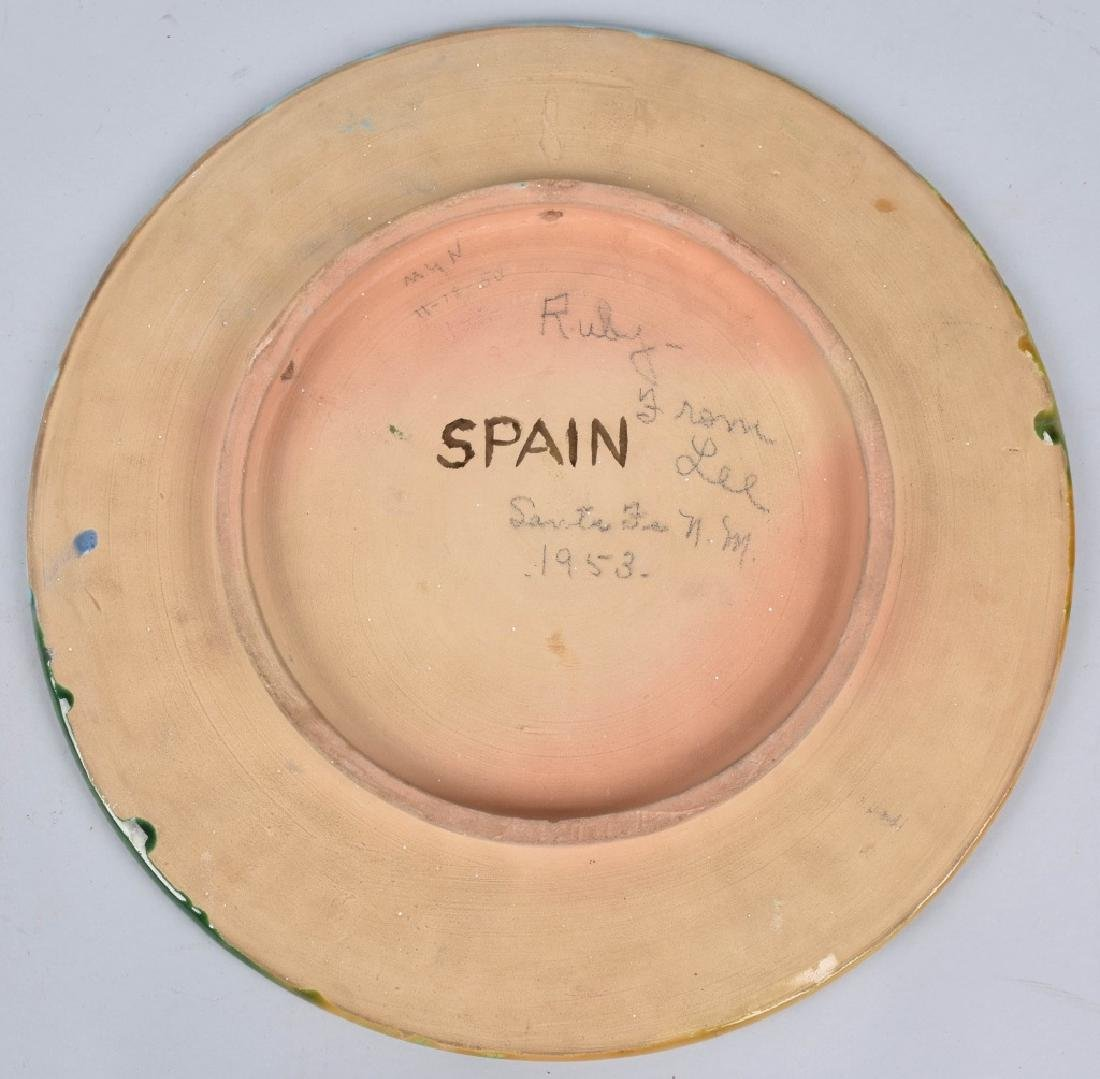 2-LARGE SPANISH PLATES, DON QUIXOTE & MORE - 3