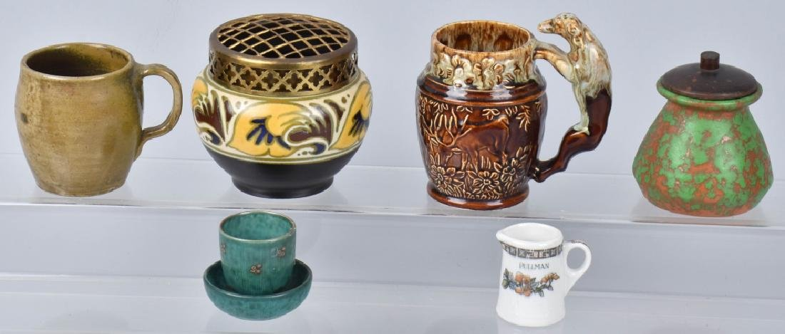VINTAGE POTTERY GROUP, JUG TOWN, HOLLAND & MORE