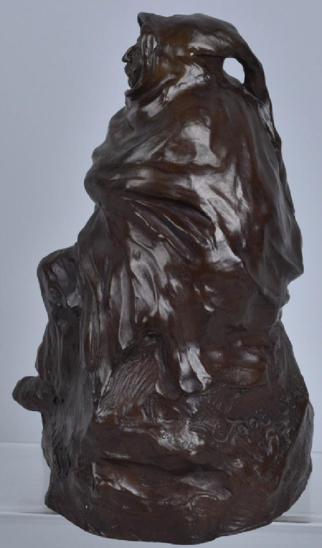 BRONZE SCULPTURE, BOB SORNIER, 1975 - 3
