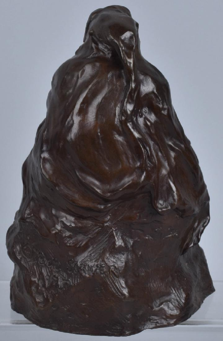 BRONZE SCULPTURE, BOB SORNIER, 1975 - 4