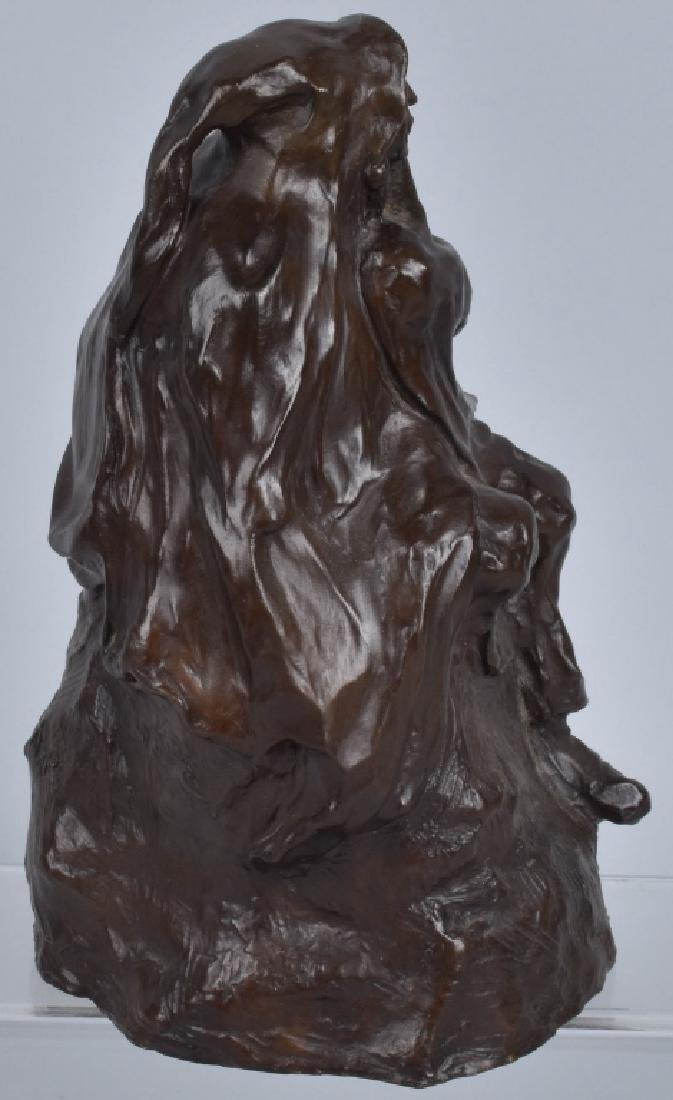 BRONZE SCULPTURE, BOB SORNIER, 1975 - 5