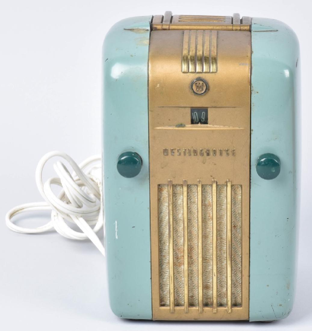 2-VINTAGE RADIOS, CROSLEY & WESTINGHOUSE - 4