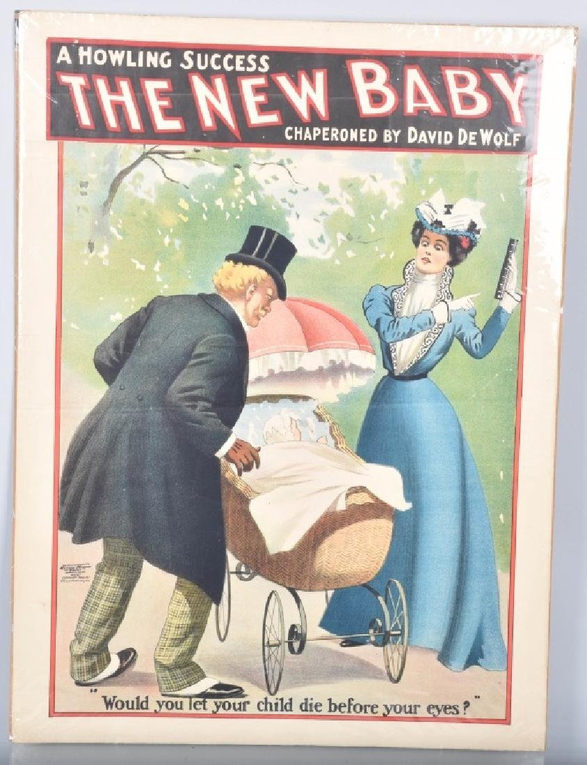 1900 THE NEW BABY THEATER PAOSTER