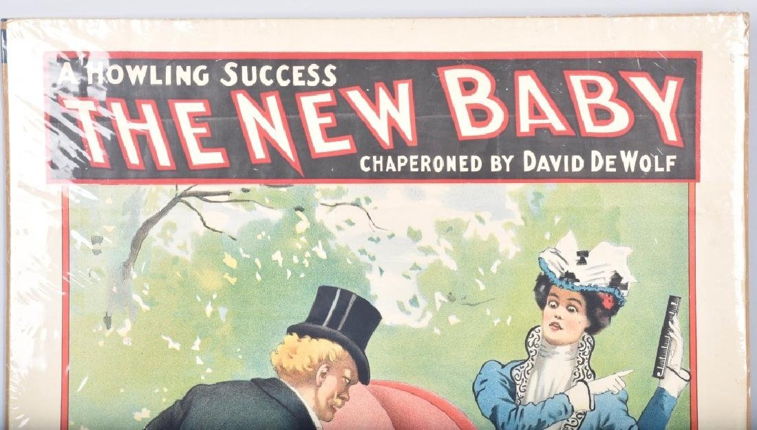 1900 THE NEW BABY THEATER PAOSTER - 2