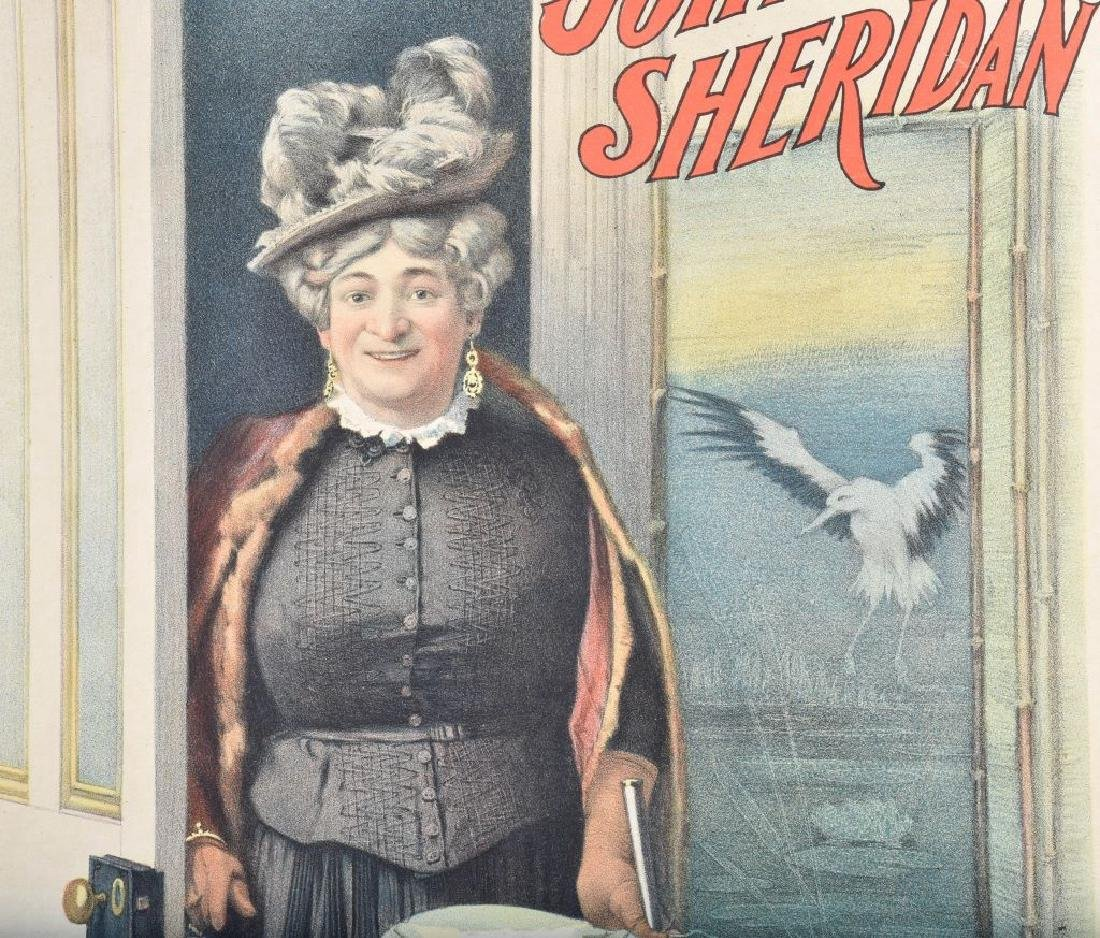 1900s MRS BRIDGET O'BRIEN THEATER POSTER - 3