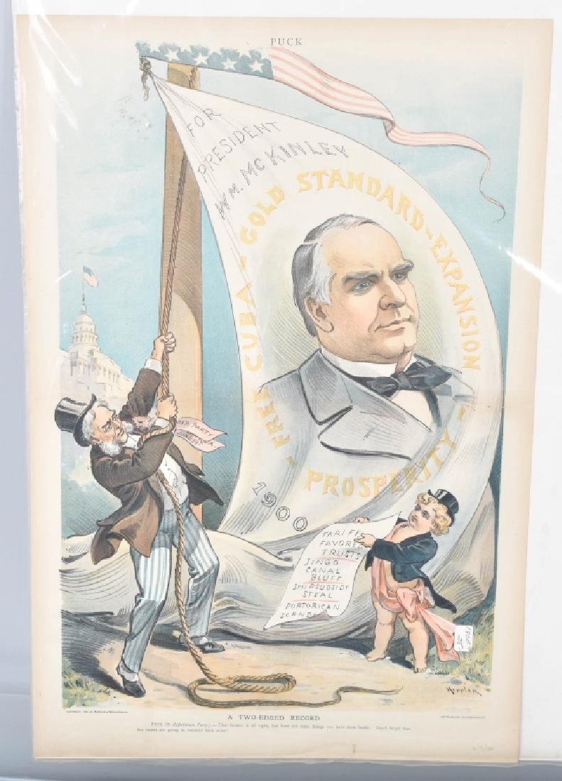 13- 1890s PUCK POLITICAL POSTERS - 2