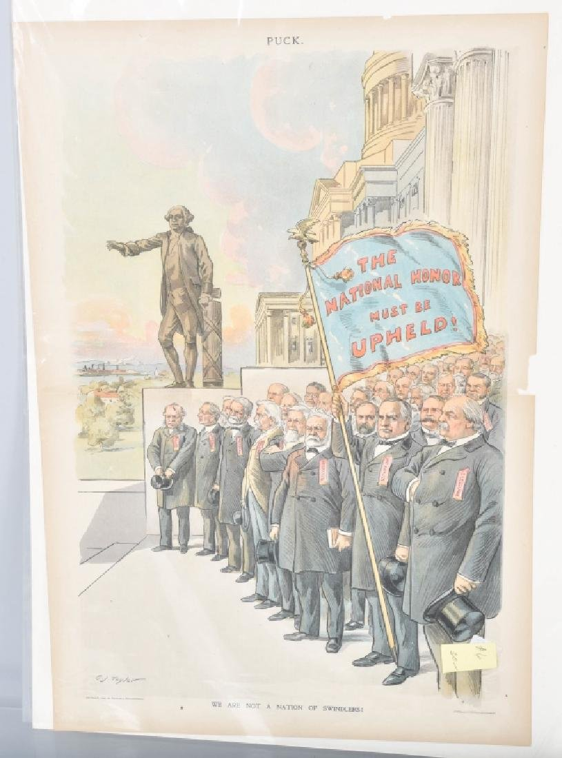 13- 1890s PUCK POLITICAL POSTERS - 6