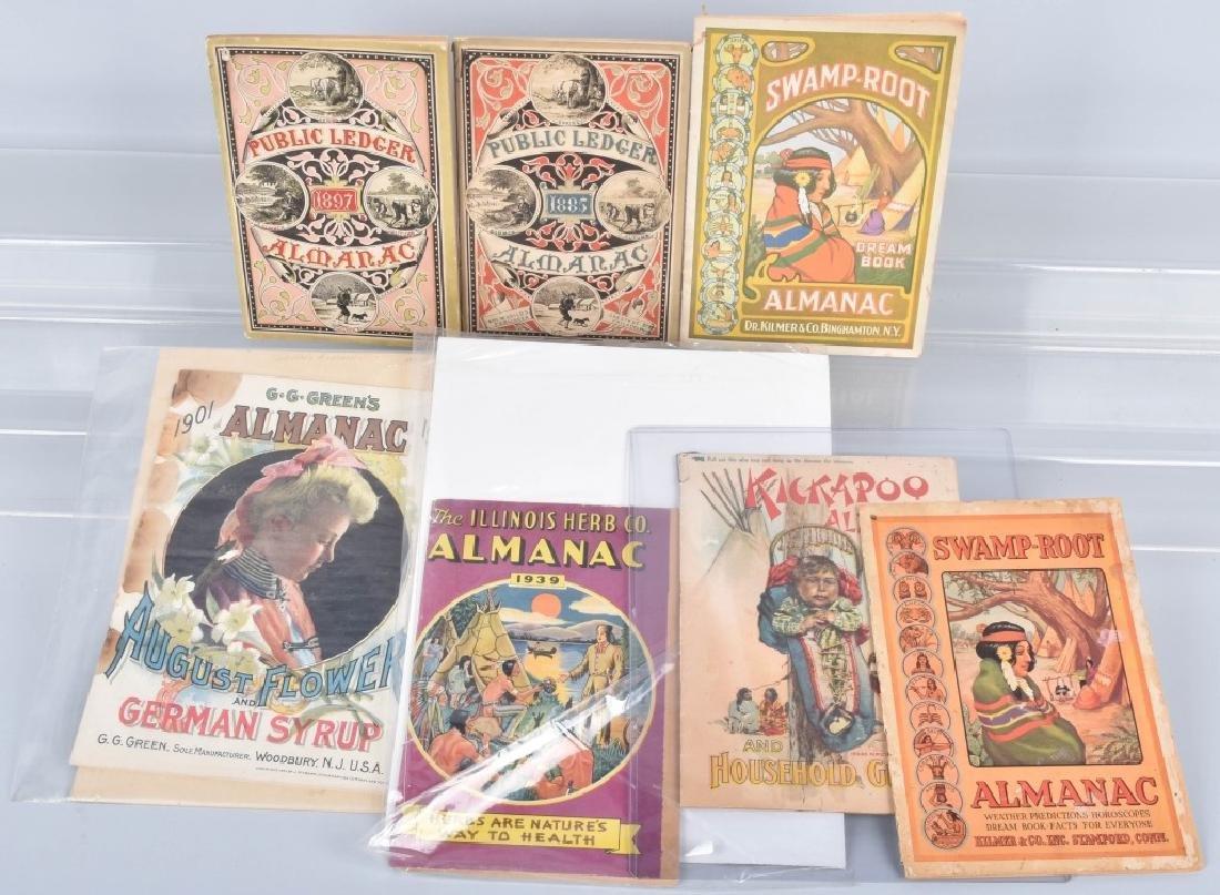 7- 1800s ALMANACS