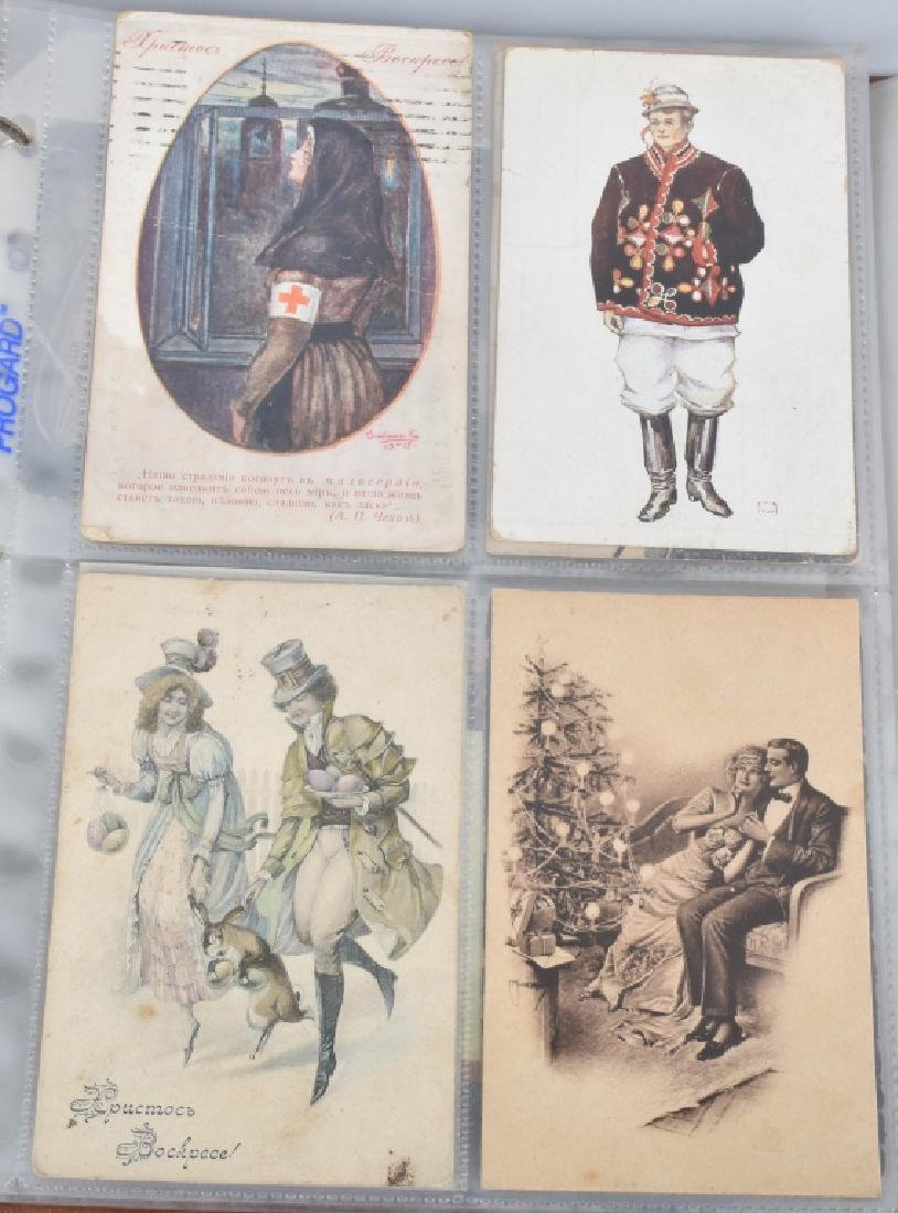 HUGE LOT OF EARLY RUSSIAN POST CARDS - 10
