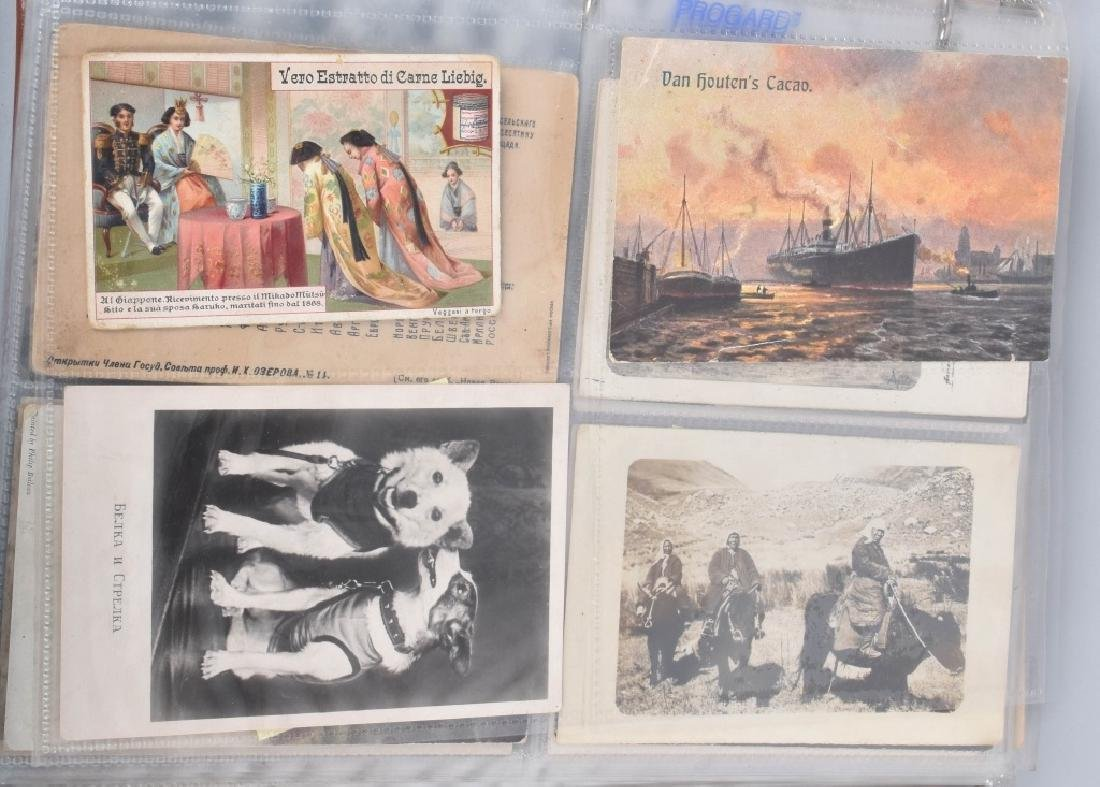 HUGE LOT OF EARLY RUSSIAN POST CARDS
