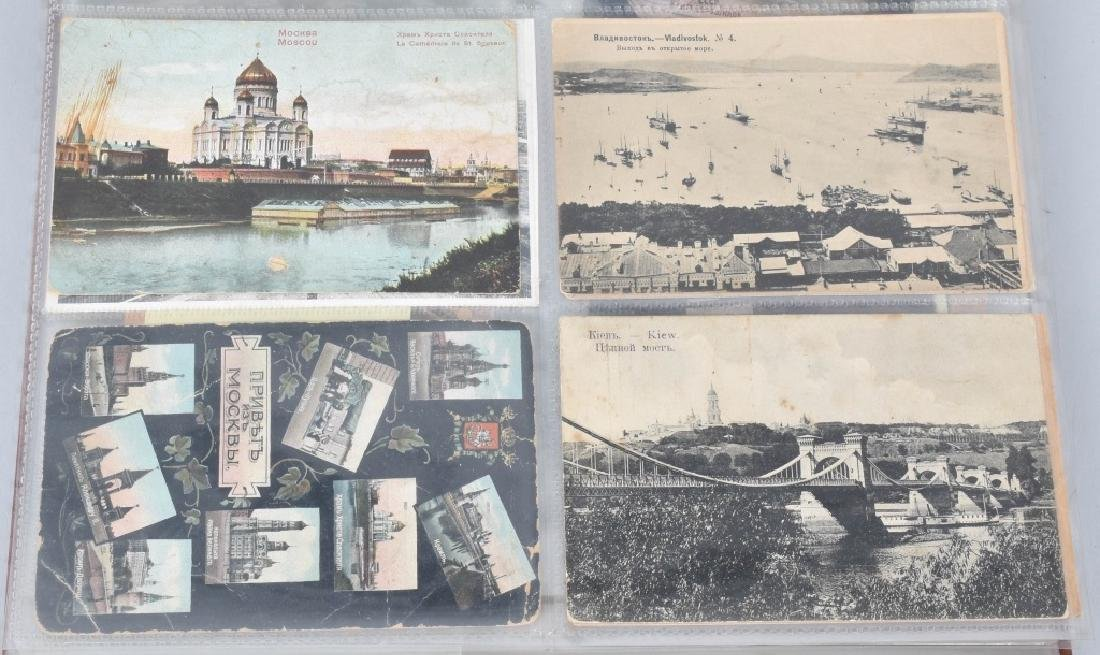 HUGE LOT OF EARLY RUSSIAN POST CARDS - 2