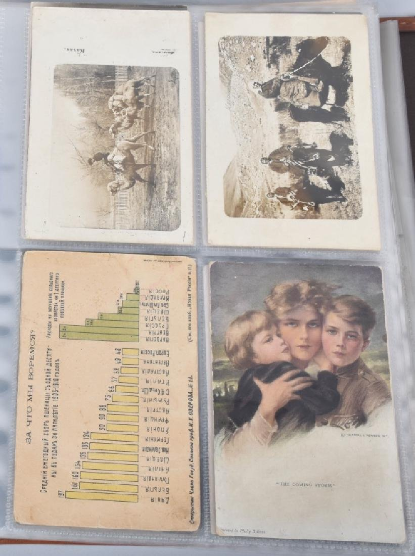 HUGE LOT OF EARLY RUSSIAN POST CARDS - 3