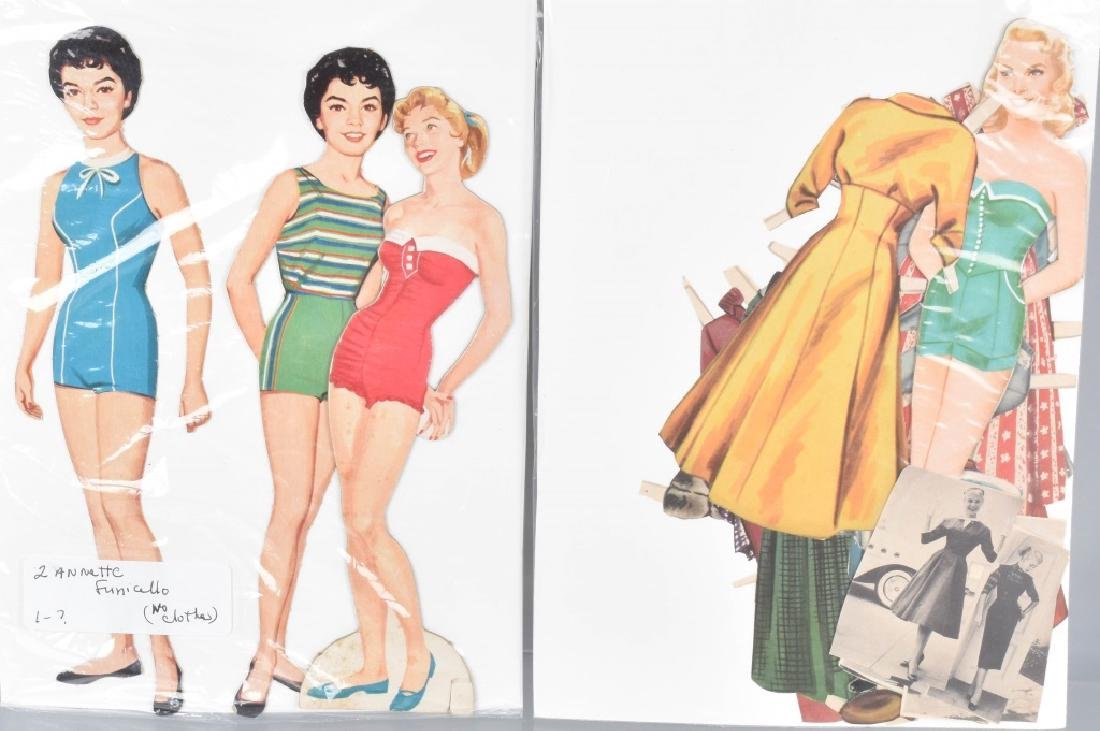 16- 1950s-60s PAPER DOLLS WITH CLOTHING - 4