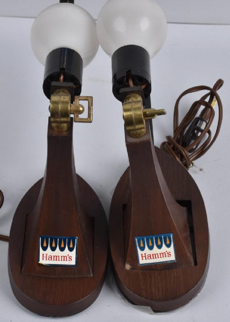 2-HAMM'S BEER ADVERTISING MOTION LAMPS - 4