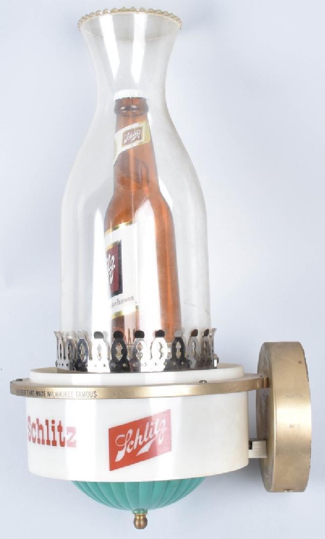 1959 SCHLITZ BEER ADVERTISING LAMP - 3