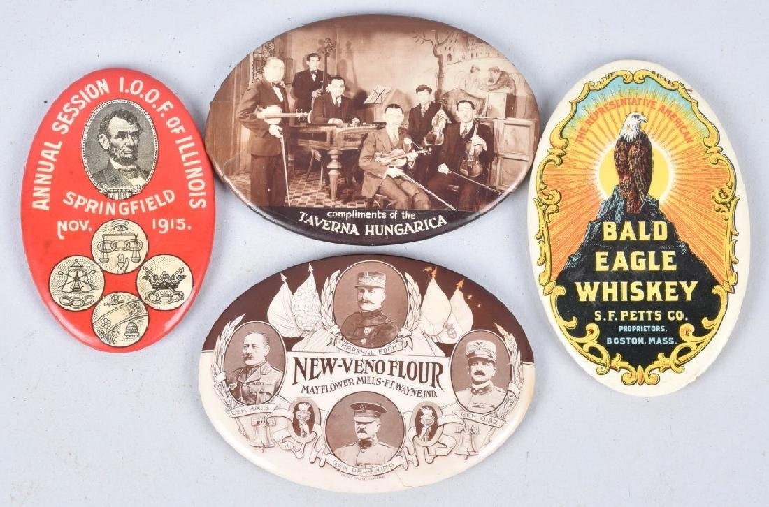 15- CELLULOID ADVERTISING POCKET MIRRORS - 3