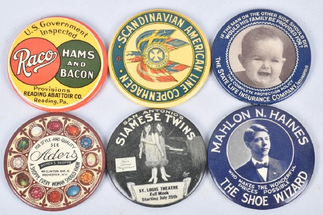 15- CELLULOID ADVERTISING POCKET MIRRORS - 2