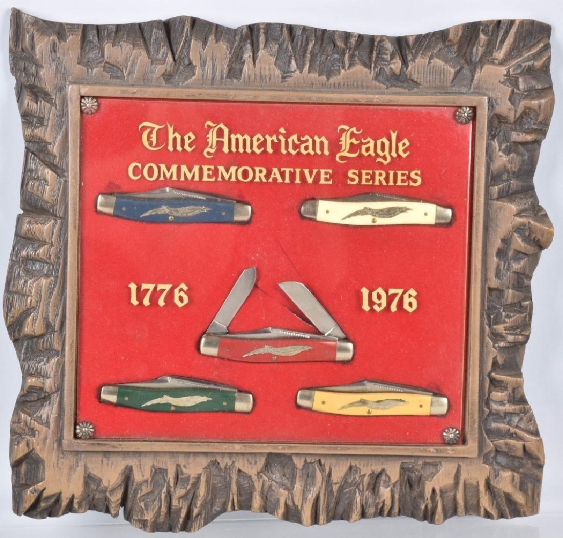 1776-1978 AMERICAN EAGLE POCKET KNIFE SET