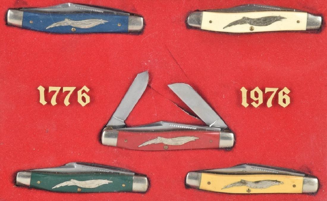 1776-1978 AMERICAN EAGLE POCKET KNIFE SET - 2