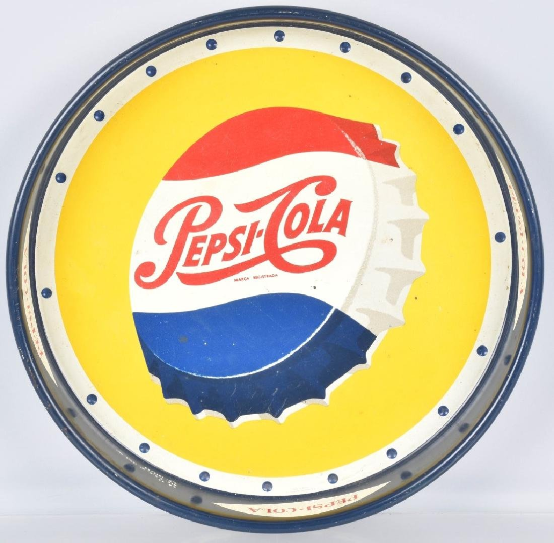 1953 PEPSI CAP SERVING TRAY FOREIGN