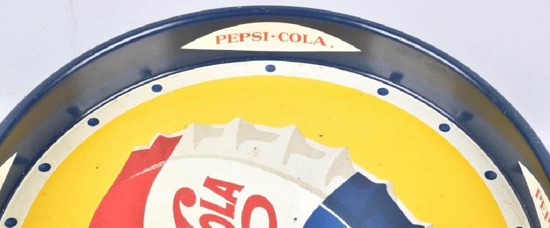 1953 PEPSI CAP SERVING TRAY FOREIGN - 5